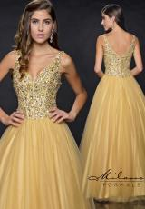 Milano Formals E1660.  Available in Gold