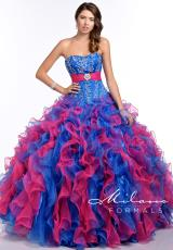 Milano Formals E1676.  Available in Blue/Pink