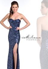Milano Formals E1788.  Available in Navy