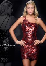 Milano Formals E1707 .  Available in Red