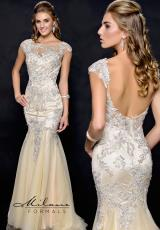 Milano Formals E1743.  Available in Silver/Nude
