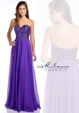 Milano Formals E1817.  Available in Purple