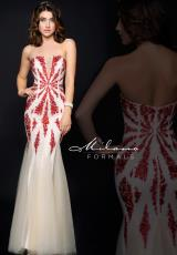 Milano Formals E1751.  Available in Red/Nude