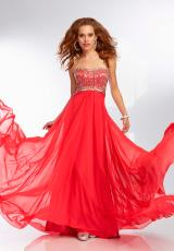 Mori Lee 95012.  Available in Caribbean, Lipstick, Sunflower