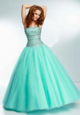 Mori Lee 95014.  Available in Aqua, Blush, Coral
