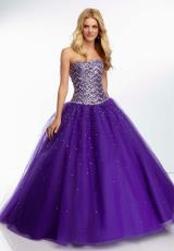 Mori Lee 95036.  Available in Black, Deep Purple