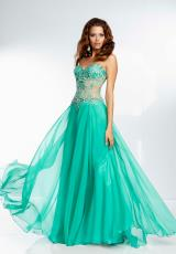 Mori Lee 95070.  Available in Candy Pink, Green, Majestic Blue