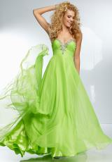 Mori Lee 95072.  Available in Fuchsia, Lime