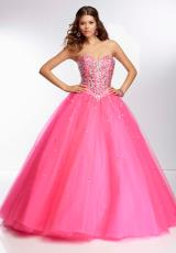 Mori Lee 95075.  Available in Deep Purple, Pink Panther, White
