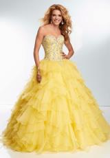 Mori Lee 95095.  Available in Iced Pink, Lemon Drop