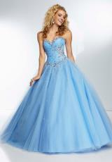 Mori Lee 95099.  Available in Bahama Blue, Coral, Mint