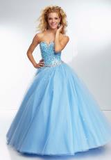 Mori Lee 95102.  Available in Bahama Blue, Ballet Pink, BubbleEX, CapriEX, ChampagneEX, Daisy, MintEX, OrangeburstEX, ToxicEX