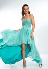 Mori Lee 95110.  Available in Bright Coral, Deep Aqua
