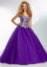Mori Lee 95124.  Available in Deep Purple, Royal