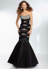Mori Lee 95125.  Available in Black