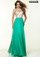 Mori Lee 97033.  Available in Bright Pink, Green
