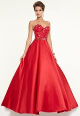 Mori Lee 97105.  Available in Black, Red