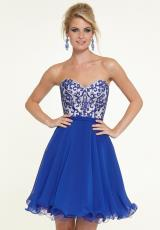 Mori Lee Sticks & Stones 9313.  Available in Hot Pink, Majestic Royal