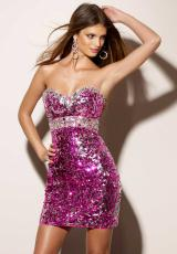 Mori Lee Sticks and Stones 9167.  Available in Fuchsia, Gold