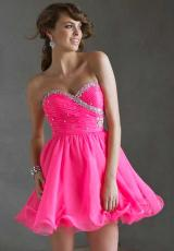 Mori Lee Sticks & Stones 9237.  Available in Neon Pink, Purple