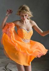 Mori Lee Sticks and Stones 9240.  Available in Mint, Neon Orange, Purple