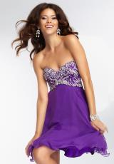 Mori Lee Sticks & Stones 9260.  Available in Bright Purple, Red Hot