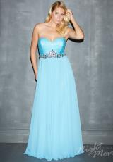 Night Moves Plus Size 7131W.  Available in Lime, Turquoise