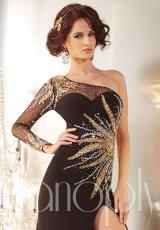 Panoply 14616.  Available in Black/Gold, Champagne/Gold
