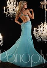 Panoply 14629.  Available in Aqua/Nude, Hot Pink/Nude