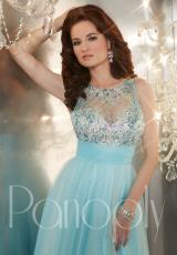 Panoply 14662.  Available in Aqua/Nude, Peach/Nude