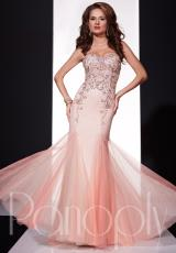 Panoply 14691.  Available in Aqua/Nude, Salmon/Nude