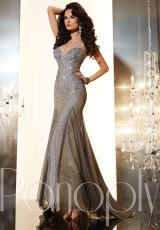 Panoply 44230.  Available in Gunmetal/Nude, White/Nude