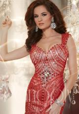 Panoply 44243.  Available in Black/Nude, Red/Nude