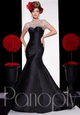 Panoply 44251.  Available in Black/Nude, Pink/Nude