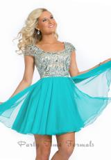 Party Time Dresses 6303.  Available in Aqua Marine, Coral