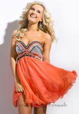 Party Time Dresses 6313.  Available in Coral, Royal