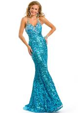 Party Time Dresses 6020.  Available in Red, Turquoise
