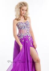 Party Time Dresses 6497.  Available in Black, Purple, Turquoise
