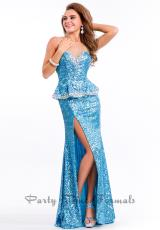 Rachel Allan 6552.  Available in Black, Turquoise