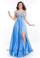 Party Time Dresses 6563.  Available in Pink, Sky Blue