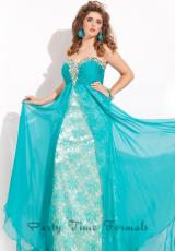 Rachel Allan 6585.  Available in Black/Nude, Coral/Nude, Teal/Nude