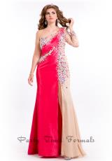 Party Time Dresses 6609.  Available in Coral, Royal