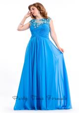 Party Time Dresses 6621.  Available in Soft Coral, Turquoise