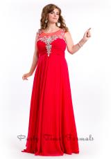 Party Time Dresses 6626.  Available in Aqua, Red, Teal