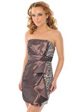 Precious Formals H50038.  Available in Chocolate