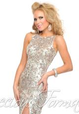 Precious Formals L8916.  Available in Crystal Ivory, Red, Royal