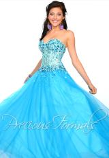Precious Formals O10534.  Available in Turquoise, White