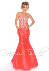Precious Formals P10561.  Available in Coral Kiss, Royal, White