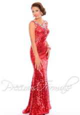 Precious Formals P55288.  Available in Red