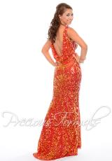 Precious Formals P9038.  Available in Crystal Nude, Crystal Ruby